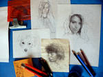 Drawings at grandma's