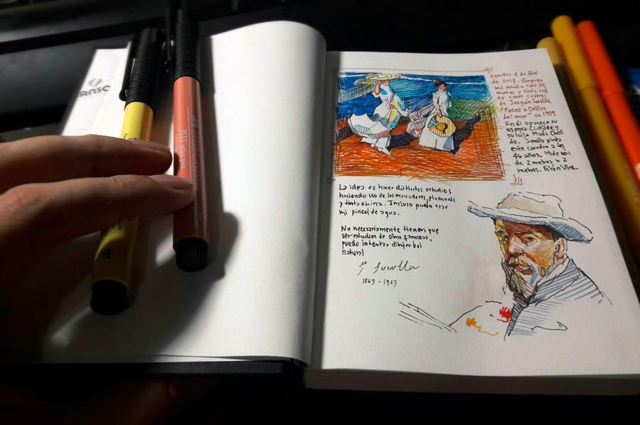 Sketchbook exercises by SILENTJUSTICE