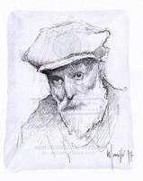 Quick sketch R by SILENTJUSTICE
