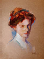 Study in pastels after Sorolla GS