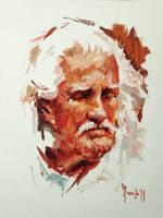 Oil sketch OM by SILENTJUSTICE