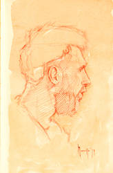 Daily portrait practice 19119 by SILENTJUSTICE