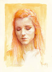 Daily portrait practice 8219