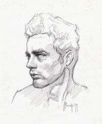 Daily portrait drawing 6319 by SILENTJUSTICE
