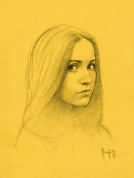 Daily portrait drawing 7319 by SILENTJUSTICE