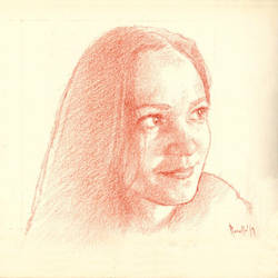 Daily portrait practice 8419 by SILENTJUSTICE
