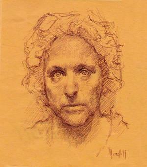 Daily portrait practice 7719