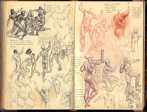 Anatomy sketches 260819A