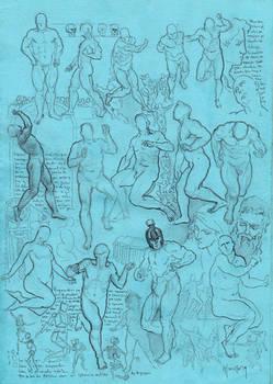 Anatomy sketch study 160919A