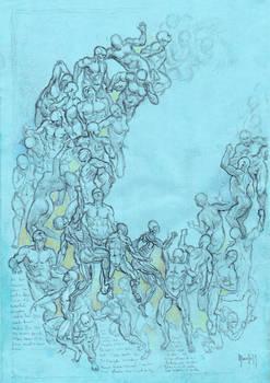 Anatomy sketch study 300919A
