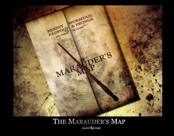 The Marauder's Map by square1design on DeviantArt