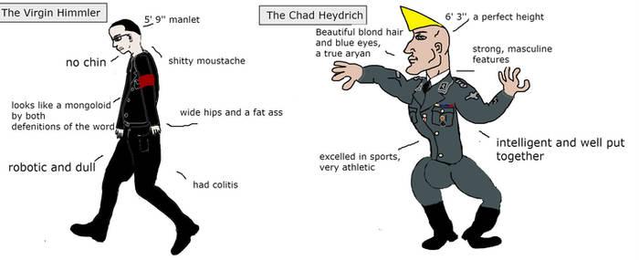 Chad Heydrich vs Virgin Himmler