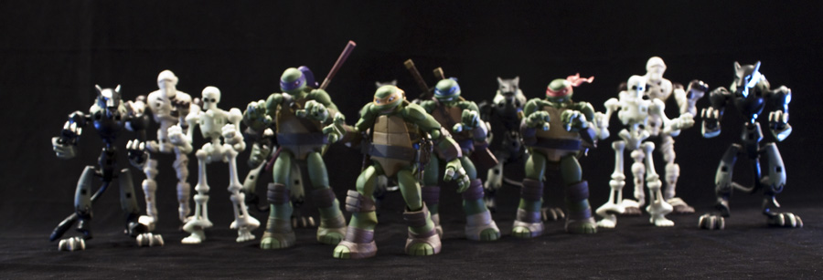 Thriller.... TMNT style by SalemCrow