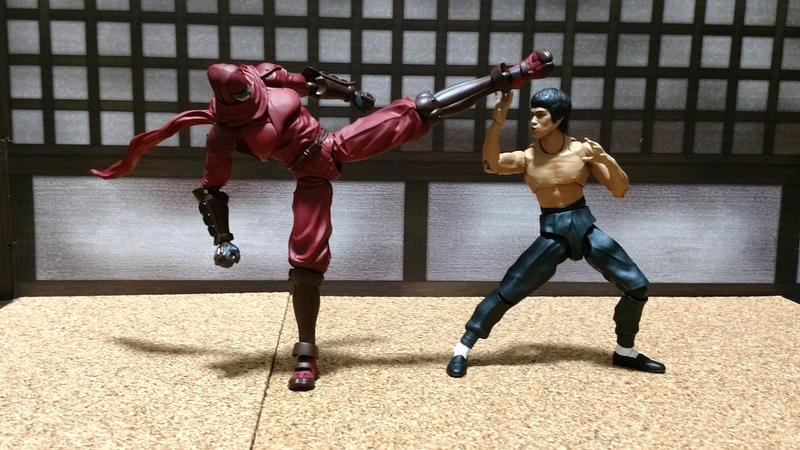 Battle in the dojo by SalemCrow