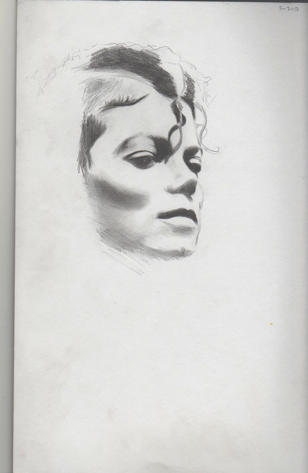 M J Sketch Images wip mj sketch by krisiD