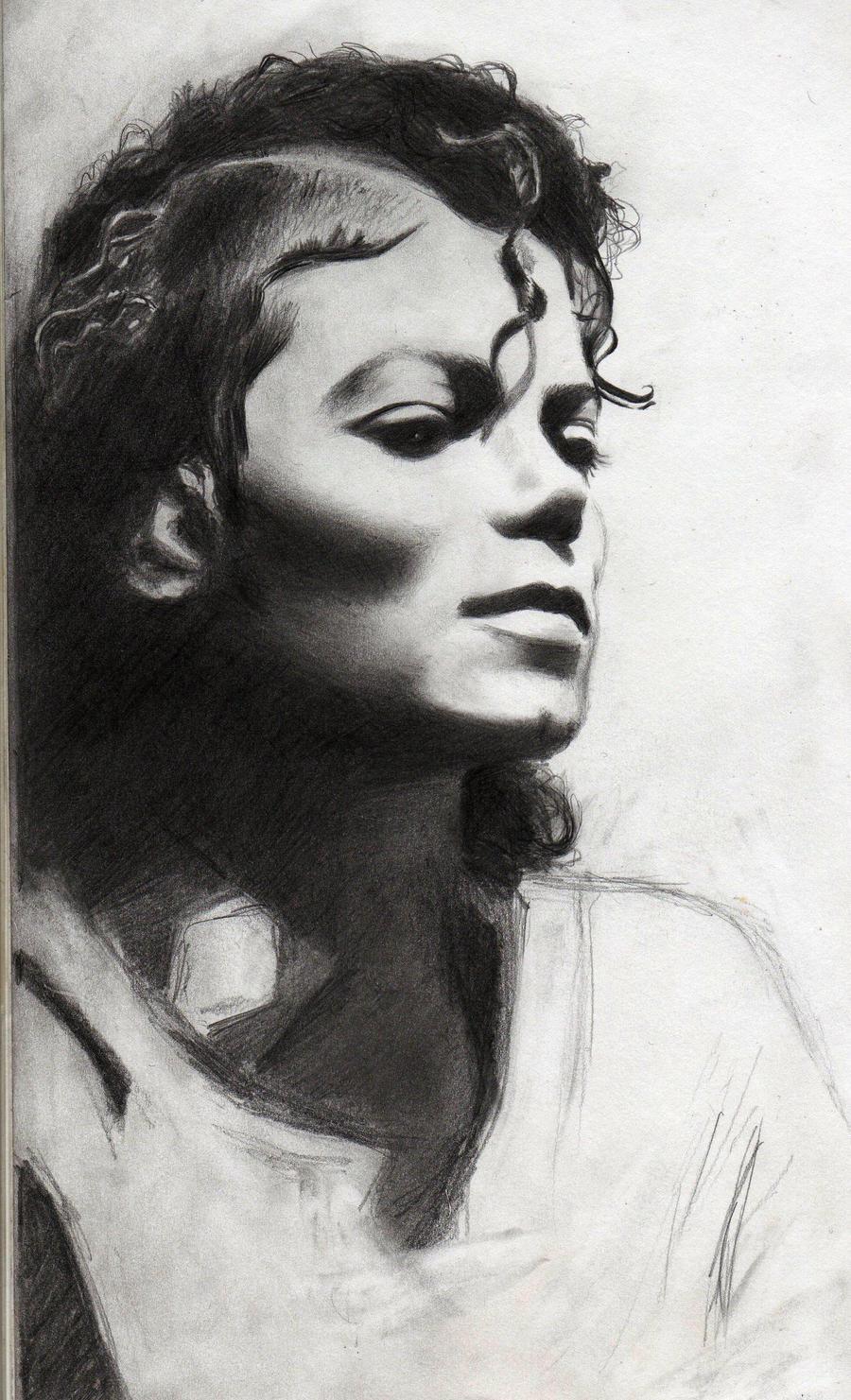 M J Sketch Images wip mj sketch II by krisiD