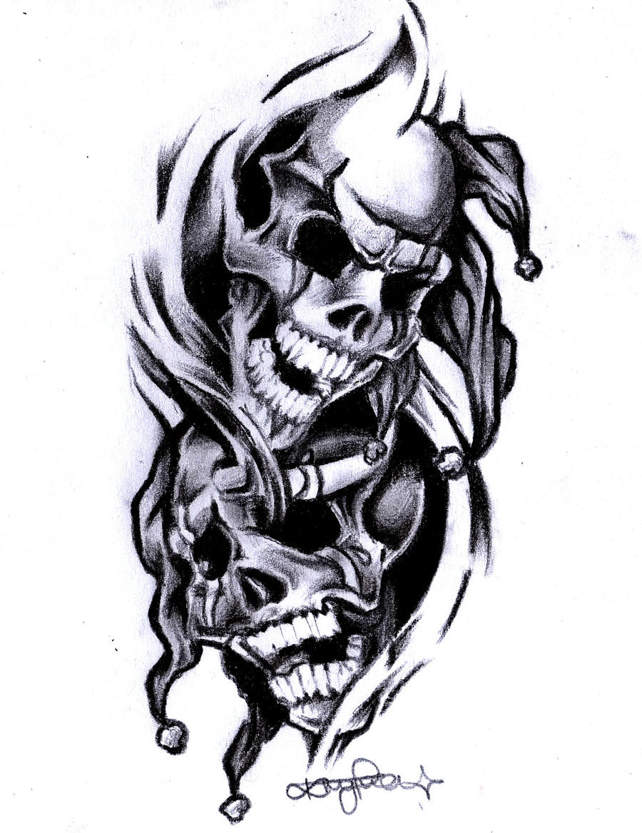 smile now cry later by krisiDLowrider Arte Jokers