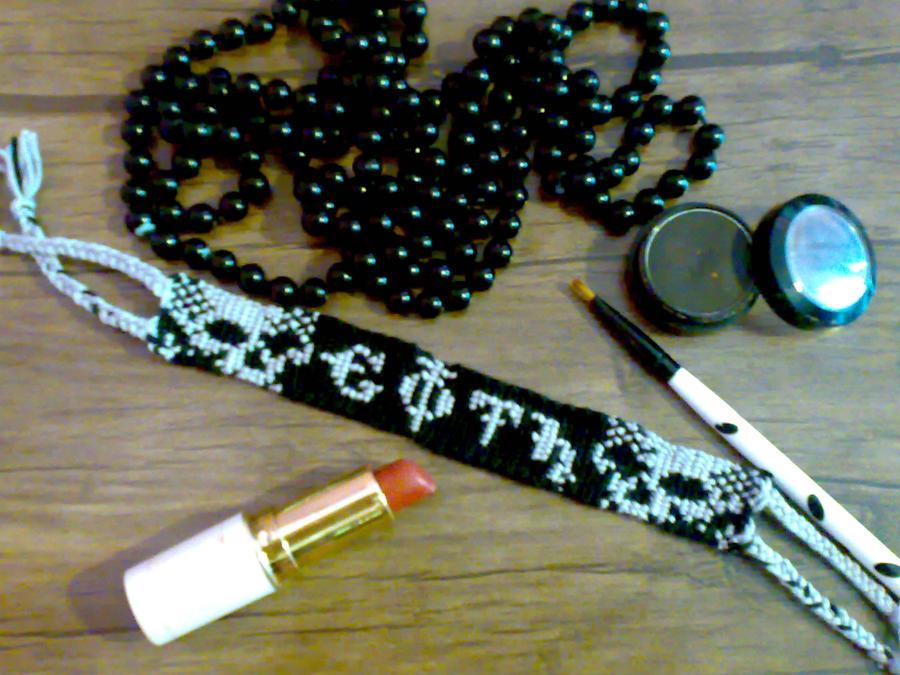 Gothic Bracelete by persiangothic