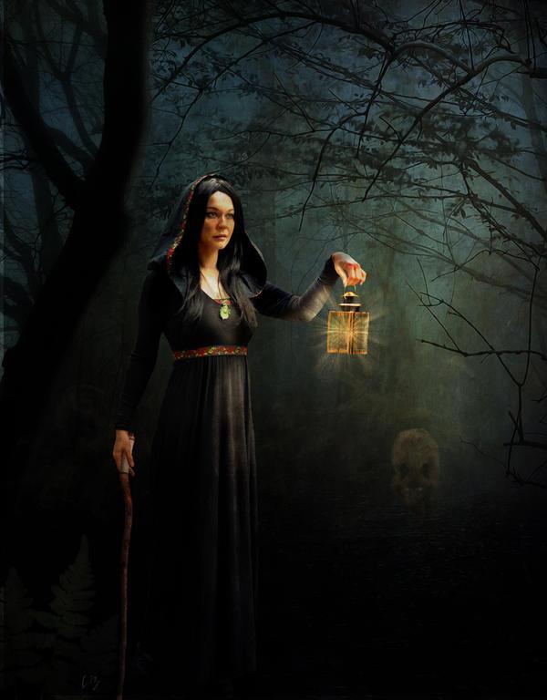 Dark Path by OhLizz