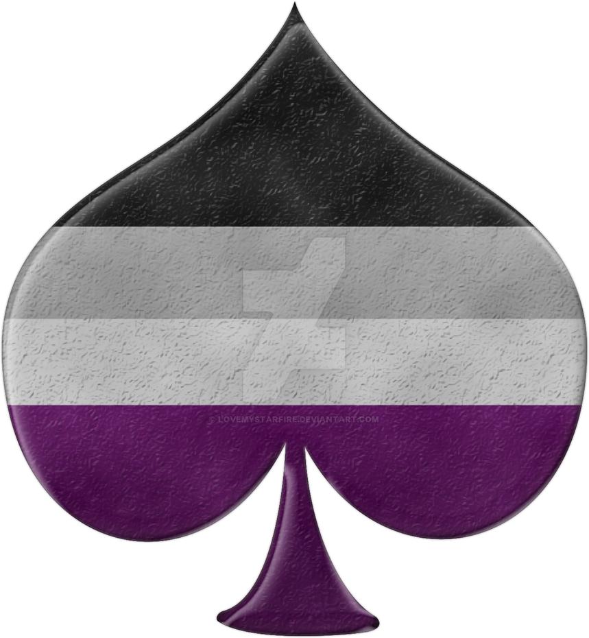 Asexual pride spade symbol by lovemystarfire on deviantart asexual pride spade symbol by lovemystarfire biocorpaavc Choice Image