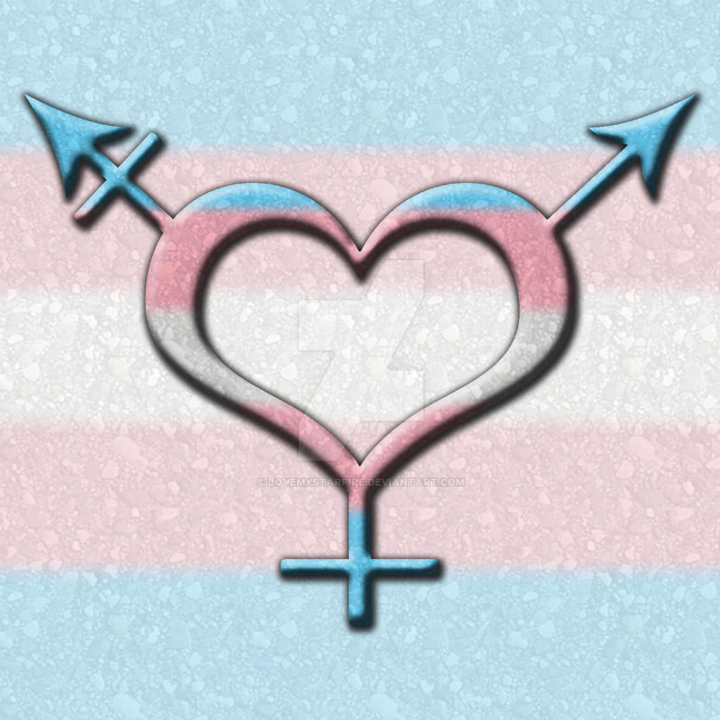Transgender Pride Gender Neutral Symbol By Lovemystarfire