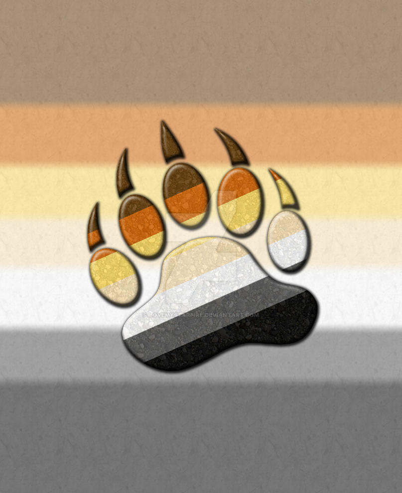 Gay Bear Pride Paw By Lovemystarfire On Deviantart