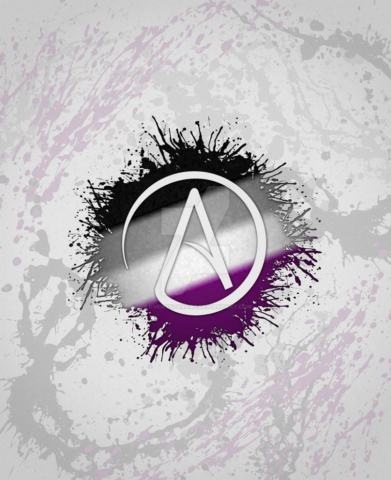 Atheist symbol asexual by lovemystarfire on deviantart atheist symbol asexual by lovemystarfire voltagebd Choice Image