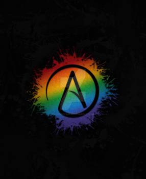 LGBT Atheist Symbol