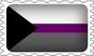 Demisexual  Pride Stamp by lovemystarfire