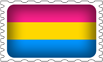 Pansexual Pride Stamp by lovemystarfire