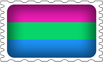 Polysexual Pride Stamp by lovemystarfire