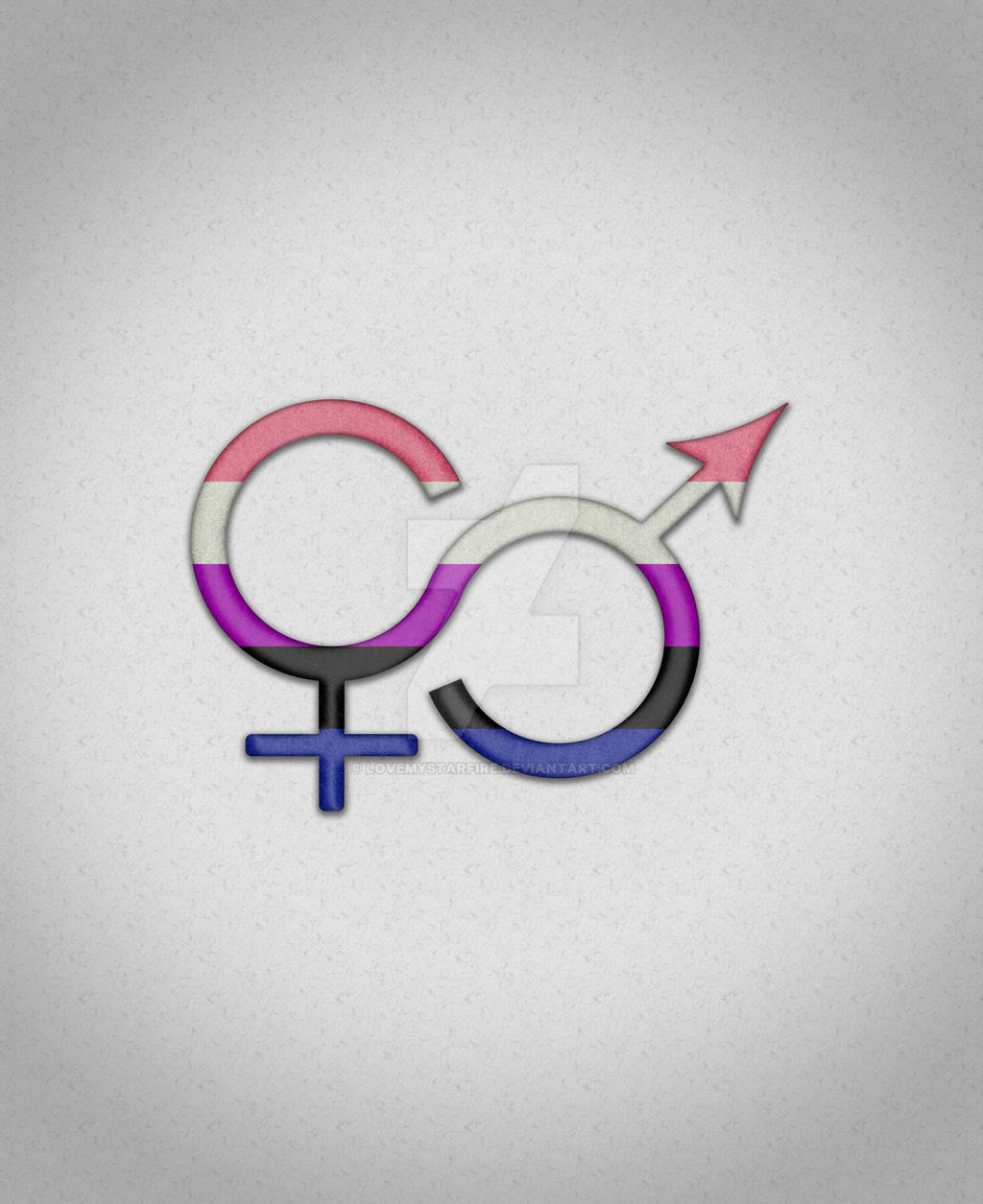 genderfluid symbol by lovemystarfire on deviantart