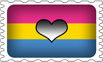 Panromantic Pride Stamp by lovemystarfire