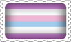 Bigender Pride Stamp by lovemystarfire