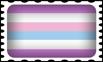 Bigender Pride Stamp by lovemystarfire