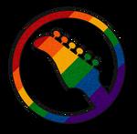 Rainbow Guitar Icon by lovemystarfire