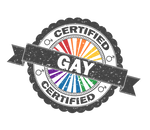 Certified Gay  Pride Stamp