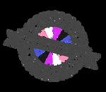Certified Genderfluid Stamp by lovemystarfire