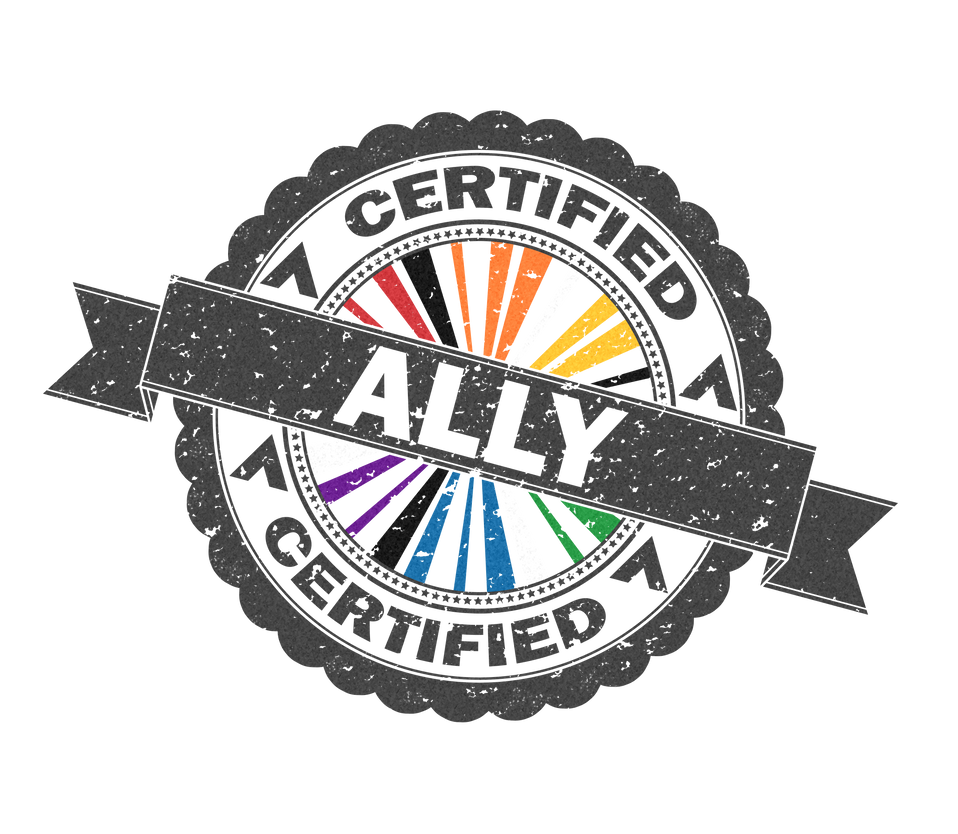 Certified LGBT Ally Stamp By Lovemystarfire On DeviantArt