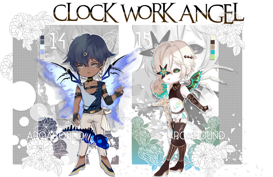 AB add+[OPEN] CS: CW ANGEL ADOPTABLES AUCTION14-15 by AroAround