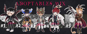 Adoptables Mix SET PRICE #1-#5 [CLOSED]