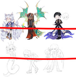 Halloween adoptables  special preview