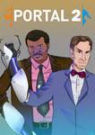 Portal 2 Feat. Bill Nye and Neil DeGrasse Tyson by Leroy-Fernandes