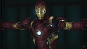 Civil War: Ironman by Leroy-Fernandes