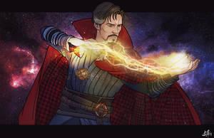 Doctor Strange by Leroy-Fernandes