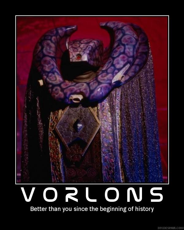 Demotivator: Vorlons by Freyad-Dryden