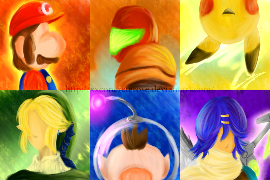 The Colours of Nintendo by xxConcreteRose
