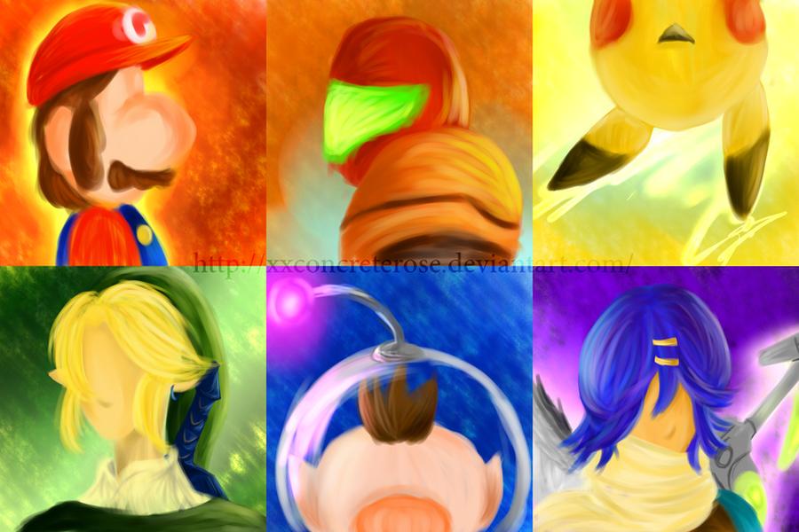 The Colours of Nintendo by xxConcreteRose
