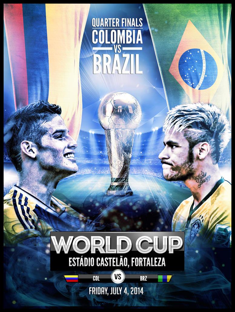 Colombia Vs Brazil Redux by JaredR672