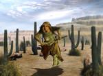 Sword Maiden by AztecDawn